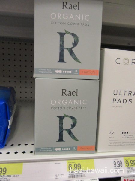 Rael ORGANIC COTTON COVER PADS